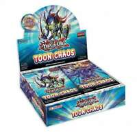 YUGIOH SEALED TOON CHAOS BOOSTER BOX (24 Count) Unlimited Reprint