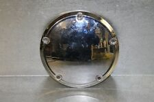 NICE 60769-06 OEM Harley Davidson Classic Chrome Derby Cover USED