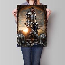 Warcraft The Beginning Movie Poster 2016 Film Llane Wrynn 16.6 x 23.4 in (A2)