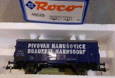 Roco 48029 Gedeckter Güterwagen CSD Brauerei Hannsdorf