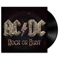 AC/DC Rock Or Bust - (3D Cover & Includes CD of full album ) VINYL LP + CD NEW