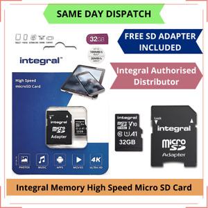 32GB Micro SD Memory Card Class 10 U3 for Cleverdog Unicam 720°, 3G CCTV Camera