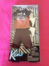 NEW! 2018 BARBIE KEN DOLL COMPLETE LOOK OMBRE TEE FASHION PACK