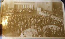 WWII era PHOTO 1947 ETHICAL CULTURE Dinner HENRY HUDSON HOTEL  in New York rare