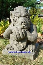 DS58 großer Shield Gargoyle Steinfigur orginal Devonshire Statuary