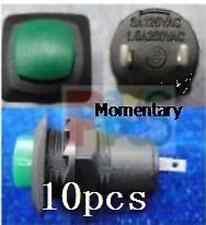 8pcs,Momentary OFF (ON) 9V 120V 230V N.O Push Switch,G34M td