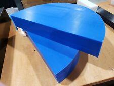 """Blue Uhmw 3/4"""" x 7"""" x 14"""" Three Pieces"""