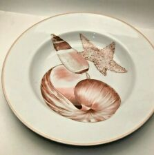 """Coquille by Fitz and Floyd large Soup Plate 9.25"""""""