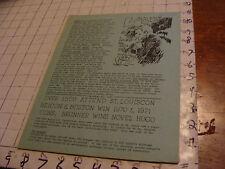 vintage Original SF Zine: LOCUS #37 sept 10, 1969--Charlie & Dena Brown--19 pgs
