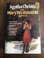 1986 Agatha Christie SIX MARY WESTMACOTT NOVELS Hardcover w/ dustcover Sku140