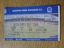 14/05/2003 BIGLIETTO: play-off semi-finale Divisione 2: Queens Park Rangers V Oldham