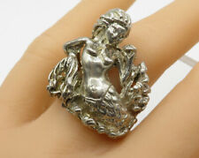 Coral Reef Detail Ring - R1867 925 Sterling Silver - Beautiful Mermaid In