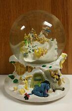 "Disney Winnie the Pooh Musical Snowglobe Plays ""Winter Wonderland"""