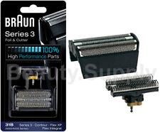 Braun Replacement Foil & Cutter Series 3 31B - 5000/6000 Contour, Flex XP, Flex