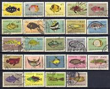 Mozambique sc#332-355 (1951) Fishes of Mozambique full set VF Used