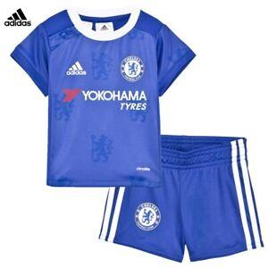 Chelsea Baby Football Kit 9-12 Months Home Kit Adidas Shirt & Shorts Set