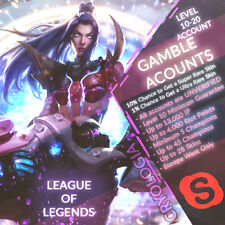 League of Legends - Eu-West - Level 10 - 19 Random Luck Account