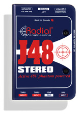 Radial J48 Stereo Active DI, stereo for guitar & bass , BEST OFFER R023