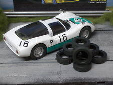 1/24 PAUL GAGE URETHANE SLOT CAR TIRES 2pr fit Carrera D124 Porsche 6