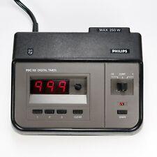 Philips PDC 112 Digital Exposure Timer Enlarger Darkroom 0,1 - 999 Sec. Tested
