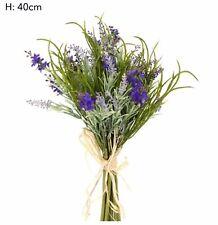 Florabelle - Artificial Lavender Bouquet - Purple Bouquet with Grasses