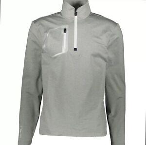 RLX GOLF RALPH LAUREN Grey Jersey Top NWT LARGE rrp  £100