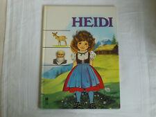 Heidi, nacherzählt von Alison Edwards, Buch: Zustand neuwertig, sehr selten