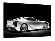 Lexus LFA - 30x20 Inch Canvas - Framed Picture Poster Print