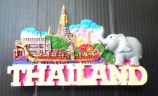 3d Fridge magnet resin thailand souvenir wat arun tourist thai collectible gift