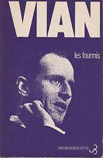 BORIS VIAN Les fourmis + PARIS POSTER GUIDE