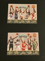 1992-93 Fleer Ultra NBA Jam Session 2 Card SP Set Michael Jordan + Rank 1-20
