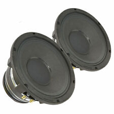 "Pair Radian 5208C 2-Way Coaxial Speaker Woofer 8"" 16 Ohm 500 W RMS Replacement"