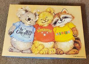Vintage Shirt Tales Puzzle Springbok 100 pc Hallmark 1980