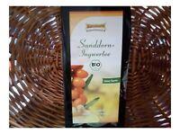 Storchennest BIO Sanddorn Ingwer Tee mit Weißdorn 75g