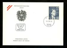 Postal History FDC #1303 Austria Music Related Alban Berg composer 1985