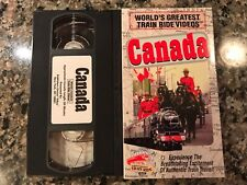 Worlds Greatest Train Ride Videos Canada Vhs! PBS Discovery Channel