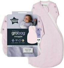 NEW Tommee Tippee The Original Grobag 3-9 Month Snuggle Baby Sleep Bag Pink Marl