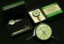 Vintage Federal Product Corp Dial Indicator Lot Of 3 Model D81s T2 Amp A6q