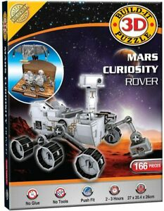 MARS CURIOSITY ROVER 3D PUZZLE * 166 pcs * Model Kit Space Science Kids Moon