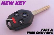 OEM SUBARU key transmitter/transponder keyless entry remote CWTWBU766 +NEW CASE