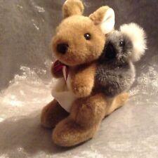Plush Kangaroo with Koala 22cm