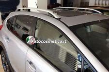Toyota Rav 4 dal 2013 AL 2018 barre longitudinali di colore argento portabagagli