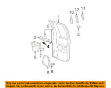 GM OEM Interior-Rear Door-Armrest Nut Right 11516993
