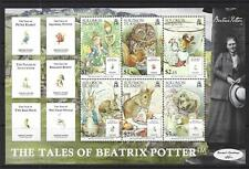 SOLOMON ISLANDS 2006 TALES OF BEATRIX POTTER MINIATURE SHEET UNMOUNTED MINT