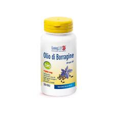 Long Life Huile Bourrache Bio 50 Prl Complément Végétale pour Bien-être Peau