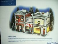 "Dept 56 Snow Village ""Center for the Arts""  #54940 MIB!"
