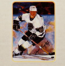 "WAYNE GRETZKY Los Angeles Kings Gartlan USA 1989 ""The Great One"" 99 Ceramic Card"