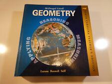 McDougal Littell Geometry, N.C. Teacher's Edition Textbook, ISBN 0618370749