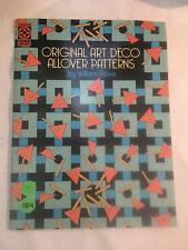 Dover Pictorial Archive: Original Art Deco Allover Patterns by William Rowe...