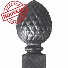 POMME DE PIN PERCEE H 180 MM REF 051011 POUR PERGOLA, RAMPE, PORTAIL
